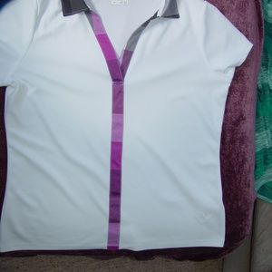 Womans Izod Golf Shirt Size L
